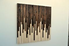 Rustic Wood Wall Art Wood Sculpture Wall by moderntextures