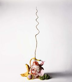 Off-the-wall floral designs where almost no object is too low, or high, to qualify.