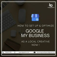 Set up and optimize Google My Business for your local business to increase your market visibility and exposure. To know more, get in touch. www.bgspatna.com #GoogleMyBusiness #DigitalMarketing