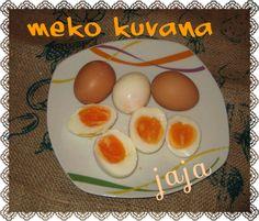 Recept: Meko kuvana jaja