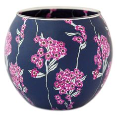 The tea-light candle holder is handmade and painted, emitting a colourful light that bathes the room in a pleasant glow.