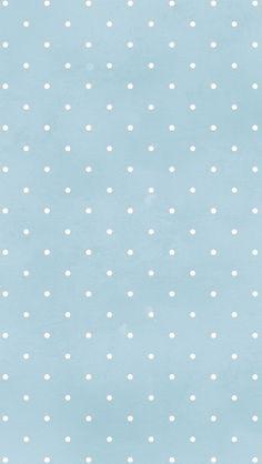 blue // white // polka dots