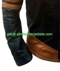 #celebrity #X-Men #wolverine #biker #leather #jackets only for lover #Hugh #Jackmans specially offers free shipping at slimleatherjackets .com