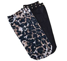 Koi Accessories Leopard Python Sock-2 Pair