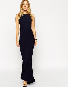 ASOS Maxi Dress With Fishtail Hem