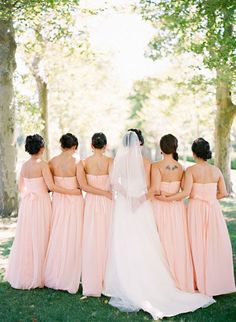 bridal party It would have to be even though. That would drive me crazy...