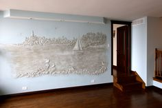 Wall mural for your dining area Kitchen Remodeling, Dining Area, Wall Murals, Kitchen Renovations, Murals, Wall Paintings