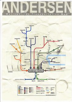 Interesting display - If your family tree was a metro system map
