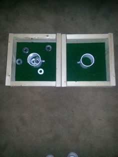 Washer Toss Game #woodworking #backyard