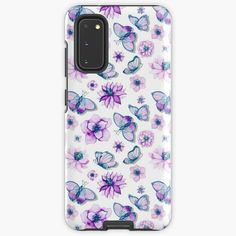 Samsung Cases, Samsung Galaxy, Butterflies Flying, Purple Butterfly, Hearing Aids, Protective Cases, My Arts, Gift Ideas, Art Prints