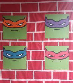 Festa com o tema das Tartarugas Ninjas para o Otavio que completou 6 anos agora…