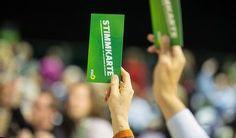 Parteitag - Grüne suchen Kurs zum Erfolg -  Der Generationenwechsel bei den Grünen wird sich bei den Spitzenkandidaten für die Europawahl fort...