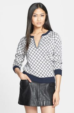 MARC BY MARC JACOBS 'Andrea' Jacquard Sweatshirt available at #Nordstrom