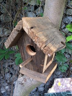 Rutic bird house by KeithGeppetto on Etsy