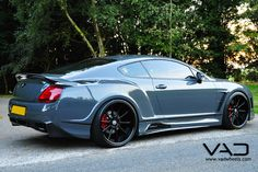 One Of Two In The World: Bentley GT Fitted With A Premier4509 Wide Body by Dirk A. - Page 2
