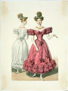 1800s Fashion, 19th Century Fashion, European Fashion, French Fashion, Victorian Fashion, Vintage Fashion, Decades Fashion, Historical Costume, Historical Clothing