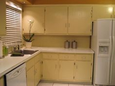 Learn a budget-friendly way to update your kitchen cabinets with paint and a simple glaze treatment on HGTV.com.