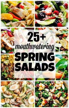 The Best Mouthwatering Spring Salads @FoodBlogs