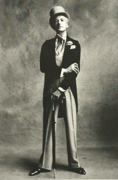 Cecil Beaton (1904-1980) English fashion, portrait and war photographer, diarist, painter, interior designer and an Academy Award-winning stage and costume designer for films and the theatre. He was named to the International Best Dressed List Hall of Fame in 1970. portrait photograph by Irving Penn (1951)