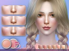 New blush for you, 5 colors for female Found in TSR Category 'Sims 4 Female Blush' Source: S-Club LL girl Blush 11 My Sims, Sims Cc, The Sims 4 Skin, Sims 4 Gameplay, Sims 4 Cc Makeup, Blush, Sims 4 Update, Sims 4 Cc Finds, Sims Resource