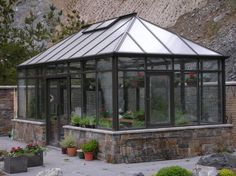 "Exceptional ""greenhouse design architecture"" information is offered on our internet site. Take a look and you wont be sorry you did. Dome Greenhouse, Backyard Greenhouse, Greenhouse Ideas, Modern Greenhouses, Gazebo, Pergola, Conservatory Garden, Green House Design, Garden Studio"