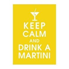drink a martini