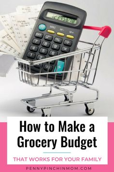 You need to have a frugal grocery budget so you know where you money goes. Learn how much to budget for your groceries and tricks to make your budget work. Living On A Budget, Family Budget, Frugal Living Tips, Frugal Tips, Budget App, Budget Meals, Save On Foods, Dinner On A Budget, Create A Budget