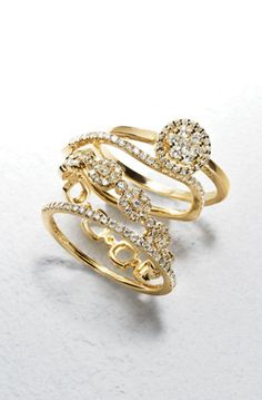Trend to try: Gorgeous stackables