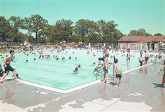 I spent every summer at the pool. As a teenager, neighborhood moms paid me to watch their kids at the pool.