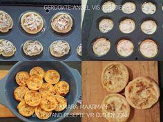 DOPPIES & VULSELS VIR KLEIN TERTJIES Milktart Recipe, Mini Tart Shells, Easy Tart Recipes, Milk Tart, Mini Pies, Home Baking, Savory Snacks, Party Treats, Puddings