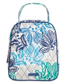 Iconic Lunch Bunch Bag. Vera Bradley Signature Lunch Tote - Santiago 78fdccf2457b0