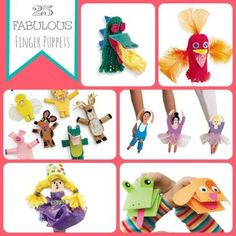I'm Your Puppet! 25 Fabulous Finger Puppets