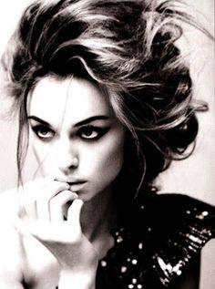 Keira: Vogue Italia B & W!