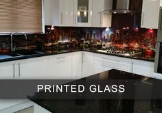 55 Best Glass Kitchen Splashbacks Images Glass Kitchen Printed