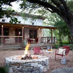 Texas ranch love the porch