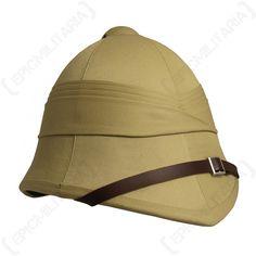 8a843ae9b8a54 British Army Tropical Pith Helmet British Colonial Style