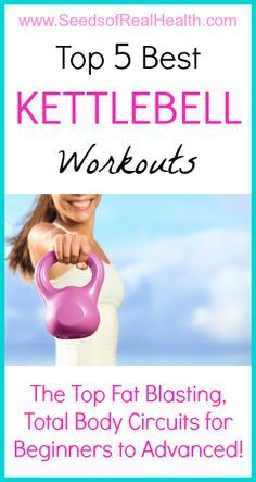 Just what I need! I can do these at home. Best Kettlebell Workouts