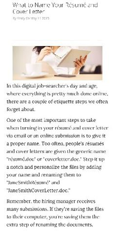 how to name your rsum cover lettersresumecareerpresentation cardsintroduction - Cover Letter Of A Resume
