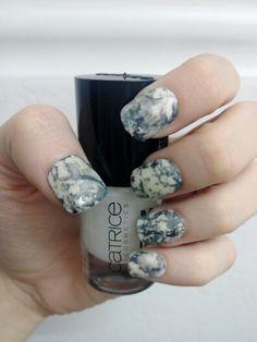 Nails marmoleado