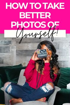 9 tips to take better photos of yourself | Look better in selfies! take better photos of on your iphone #photographyforbeginners #betterphotos #selfies