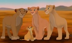 Females - lion-king-fathers-and-mothers Photo