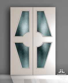 Door Gate Design, Wooden Door Design, Wooden Glass Door, Wooden Doors, Glass Wardrobe Doors, Art Deco Door, Render Design, Cool Doors, House Doors