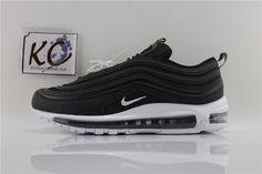 "Nike Air Max 97 OG ""Black and White"" 921826-001 Air Max 97, Nike Air Max, Air Max Sneakers, Sneakers Nike, Black And White, Shoes, Fashion, Nike Tennis, Moda"