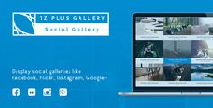 TZ Plus Gallery display all your albums from social source Facebook, Flickr, Instagram, Google+ on your site.  You can post your photos every where, every time from your mobile device to Facebook, Flickr, Instagram and Google+. it will auto added on your website.