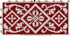 Crochet Chart, Filet Crochet, Knitting Charts, Knitting Stitches, Cross Stitching, Cross Stitch Embroidery, Tapestry Crochet, Filets, Cross Stitch Flowers