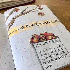 lifeviasara It's almost here! Can you believe September is almost here? Just filmed my Sept. '17 setup (going up next week) and went a little overboard on the cover on camera... at least overboard for me ATM. Any excuse to draw and doodle again is a good one, though. Happy #planning Insta-friends! #bujo #bulletjournal #planneraddict
