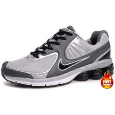 Mens Nike Shox R6 Grey Black R6 Second Nike Shoes Cheap e1de373a2