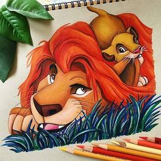 I'm only brave when I have to be. Being brave doesn't mean you go looking for trouble. –Mufasa (The Lion King) . . From the beautiful page @art_is_life100 . . #thelionking#ilreleone#tumblrquotes#frasitumblr#frasi#quotes#citazioni#mufasa#simba#son#father#padreefiglio#arts#disneyarts#disney#disneyquotes#drawing#artist#love#like#picoftheday#follow#disneyneverlandpixiedust#africa#natura#nature#lion#animals