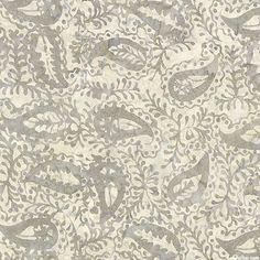 Tonga Gotham - Paisley & Vine Batik - Oyster Gray