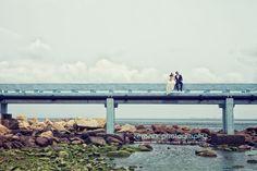 Pre-wedding photo in shek O, Hong Kong. I love this color tone so much.
